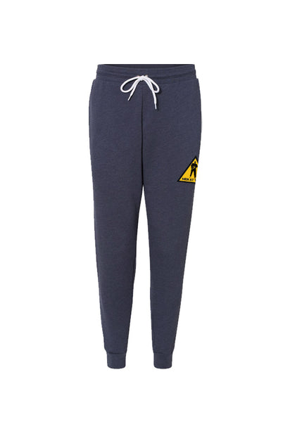 Men At Work - Caution Joggers [Blue]