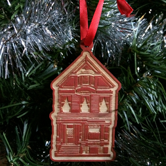 Red House Ornament