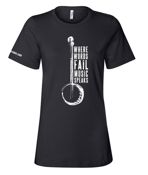 Music Speaks Tee (Ladies)