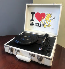 "Alison Brown ""Banjo Cat"" Turntable by Crosley"