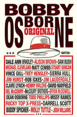 Bobby Osborne Limited Edition ORIGINAL Poster