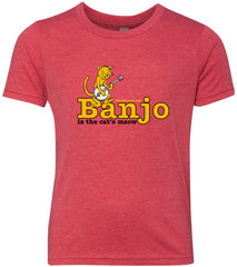 Banjo - Cat's Meow T-Shirt (Kids)