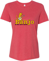 Banjo - Cat's Meow Tee (Ladies)