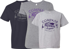 Compass Records T-shirts [Men's, Ladies & Kids]