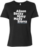 First Ladies of Bluegrass T-Shirt - Women's (Solid Black)