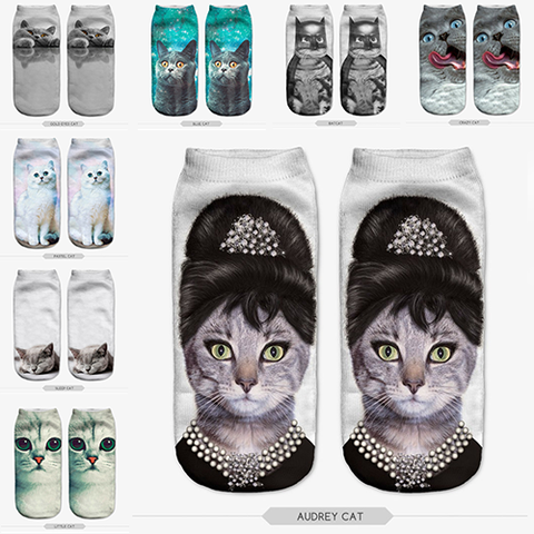 Purrfectly Cute Cat Socks