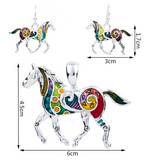 Horse Jewerly Set