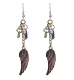 Secret Flight Drop Earrings