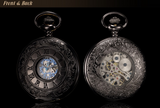 Elegant Half Hunter Pocket Watch