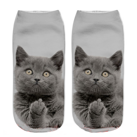 Naughty Cat Socks