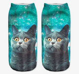 Starry Cat Socks