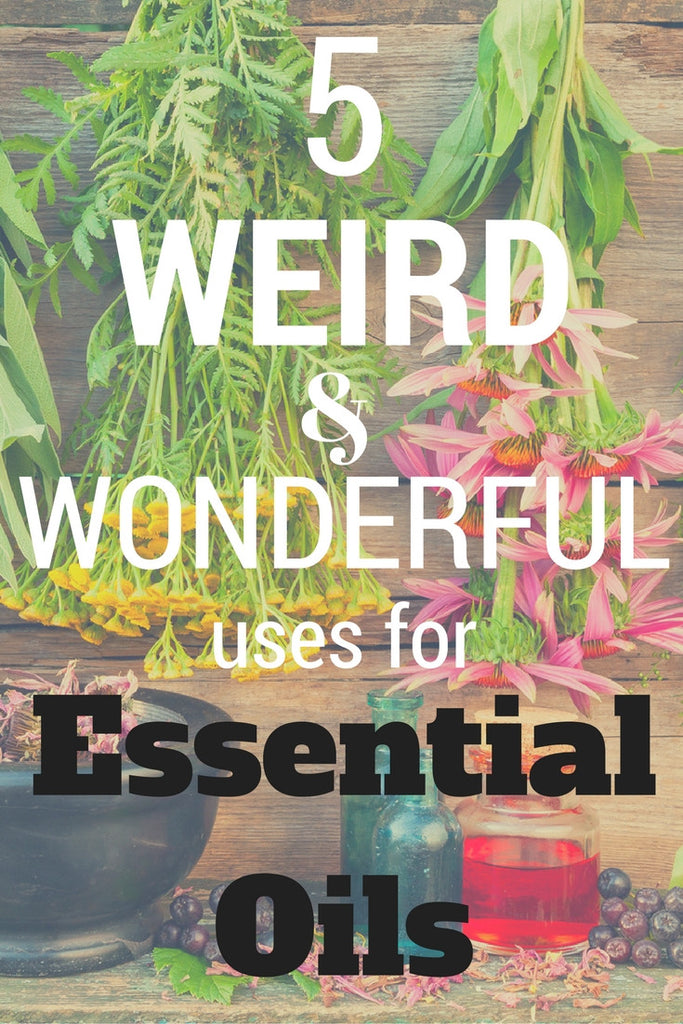 5 Weird & Wonderful Uses for Essential Oils You've Probably Never Heard of