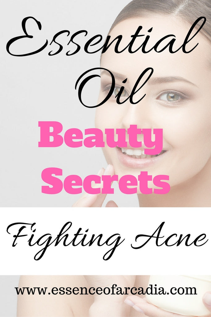 Essential Oil Beauty Secrets: Treating Acne