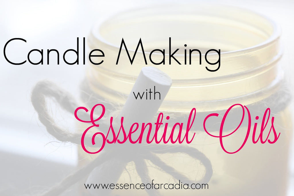 Candle-Making with Essential Oils