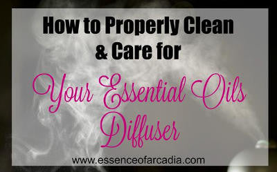 How to Properly Care for Your Essential Oil Diffuser