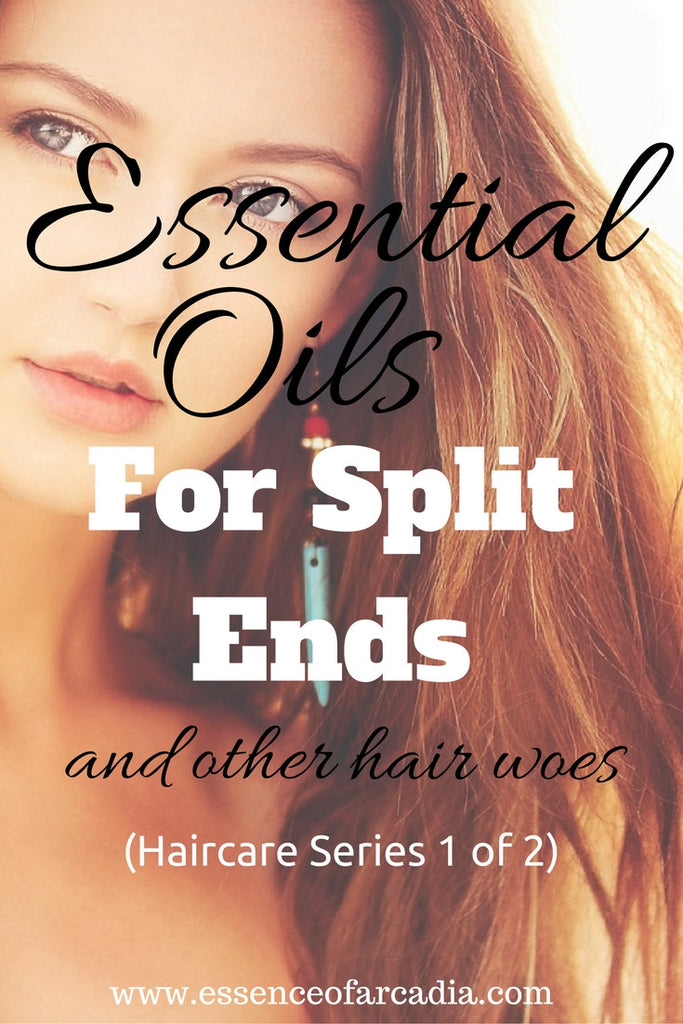 Essential Oils for Split Ends…and All Your Other Hair Woes (1 of 2)