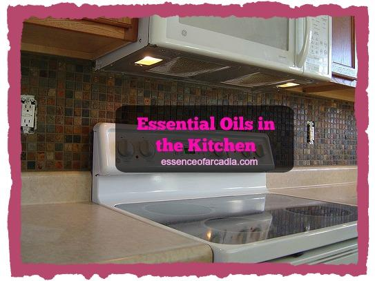 Essential Oils in the Kitchen
