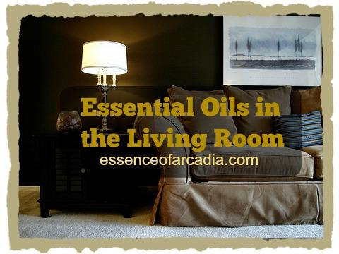 Essential Oils in the Living Room