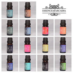 Luxury 14 Set Of Blends Sampler Pack, 100% Pure Essential Oils (10ml) In a Luxury Gift Box,  The Leading Aromatherapy Kit