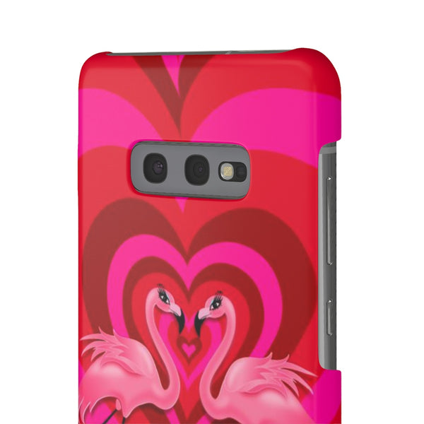Flamingo Love • Samsung Galaxy Phone Case