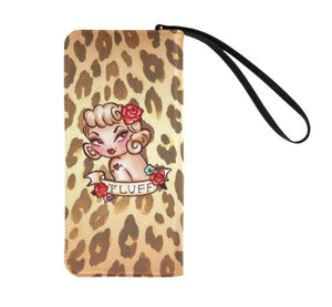 Lady Leopard • Clutch Wallet