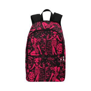 Tiki Temptress Red and Black • Backpack