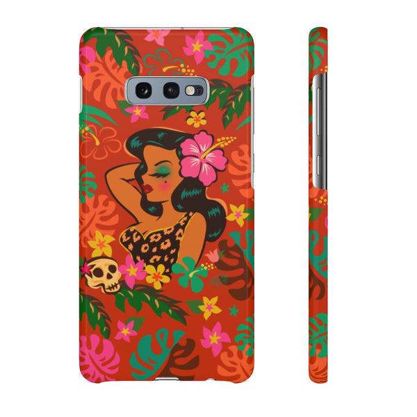 Tiki Temptress - Tropical Doll • Samsung Galaxy Phone Case