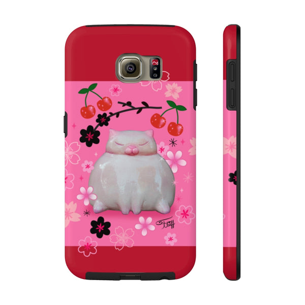 Sumo Kitty on Pink • Phone Case