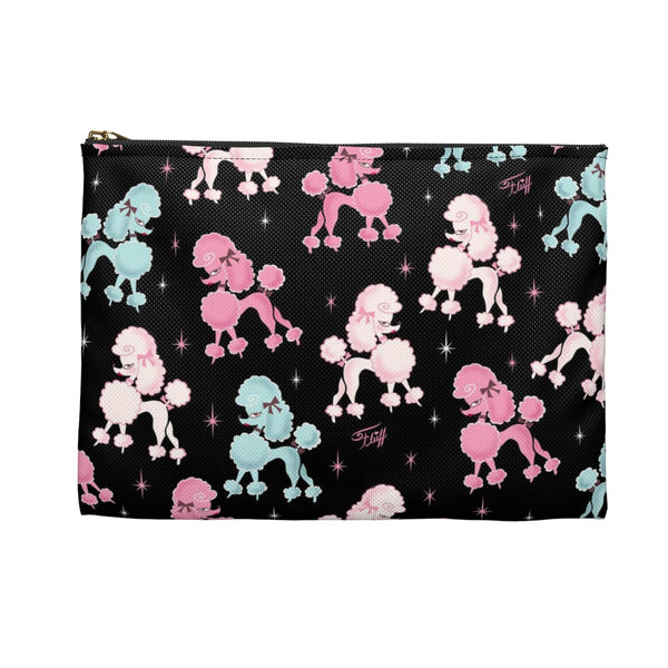 Poodle-rama • Carry All Pouch - Flat