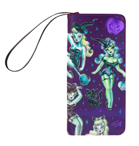Witches and Black Cats • Clutch Wallet