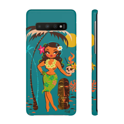 Tiki Temptress • With Skull Mug • Samsung Galaxy Phone Case