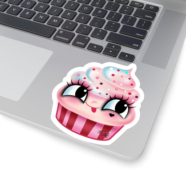 Cute Cupcake • Kiss-Cut Sticker