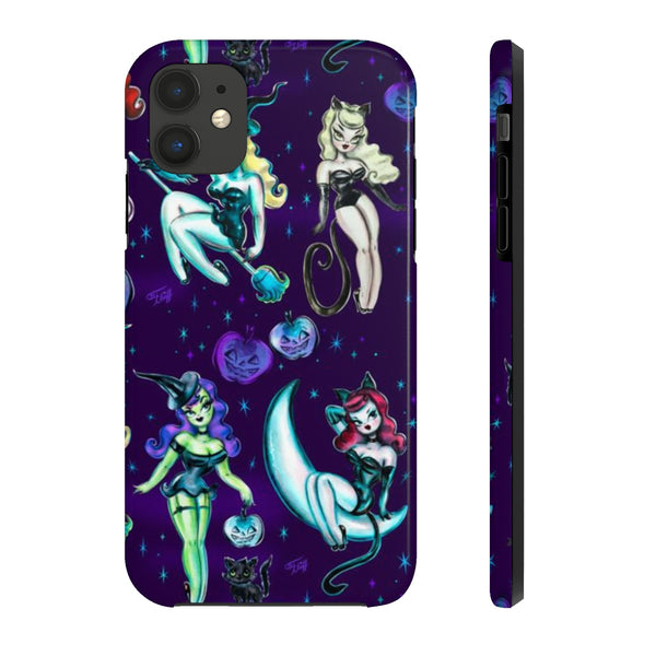 Witches and Black Cats • Phone Case