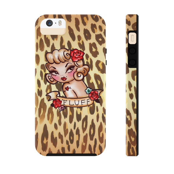 Lady Leopard • Phone Case