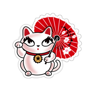 Kyoto Kitty • Kiss-Cut Sticker