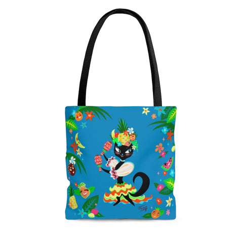 Kitten Miranda Blue • Tote Bag