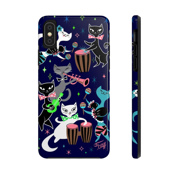 Mambo Kitties • Phone Case
