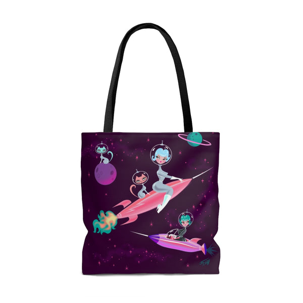 Rocket Girl • Tote Bag