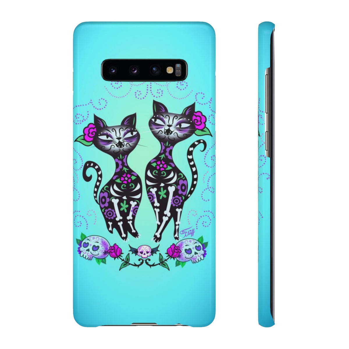 Sugar Skull Cats • Samsung Galaxy Phone Case