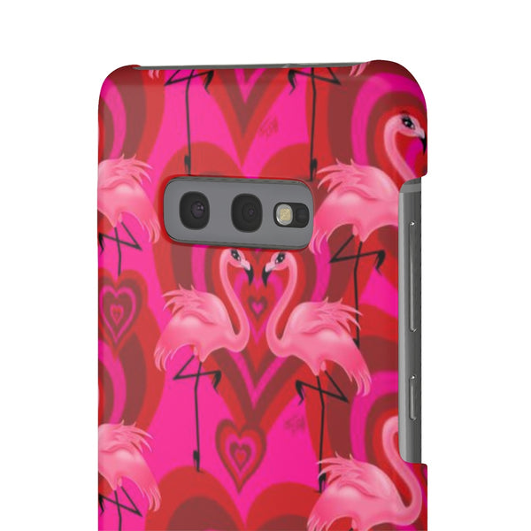 Flamingo Love Pattern • Samsung Galaxy Phone Case