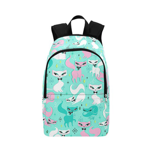 Swanky Kittens on Mint • Backpack