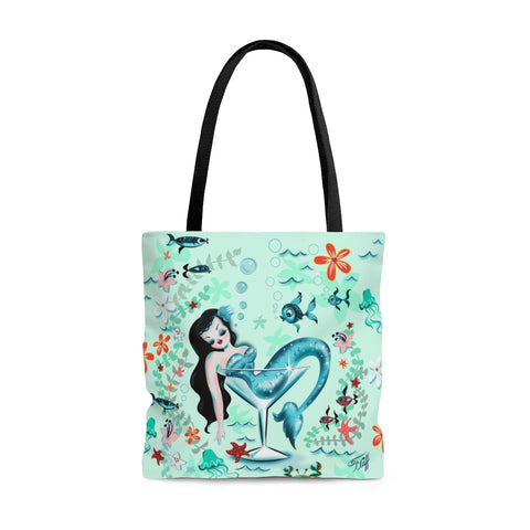 Tipsy Mermaid • Tote Bag