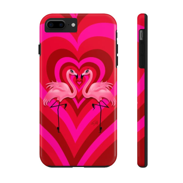 Flamingo Love • Phone Case