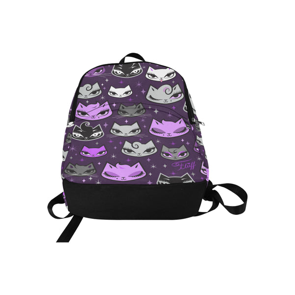 Billy Cats Purple • Backpack