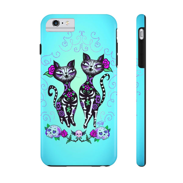 Sugar Skull Cats • Phone Case