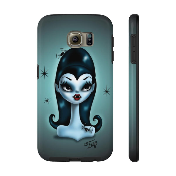 Vampire Doll with Spiders- Spooky Dolls • Phone Case