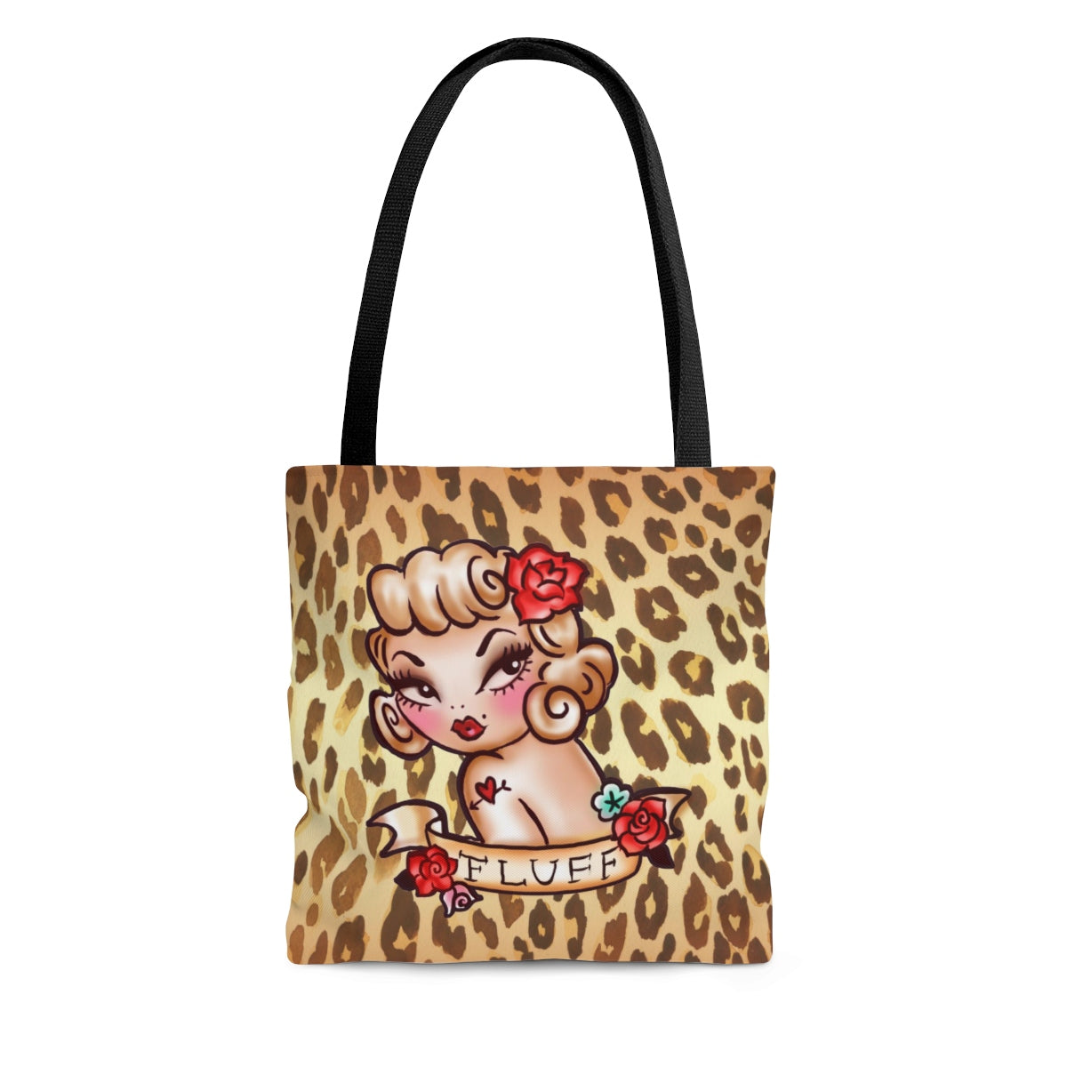 Lady Leopard • Tote Bag