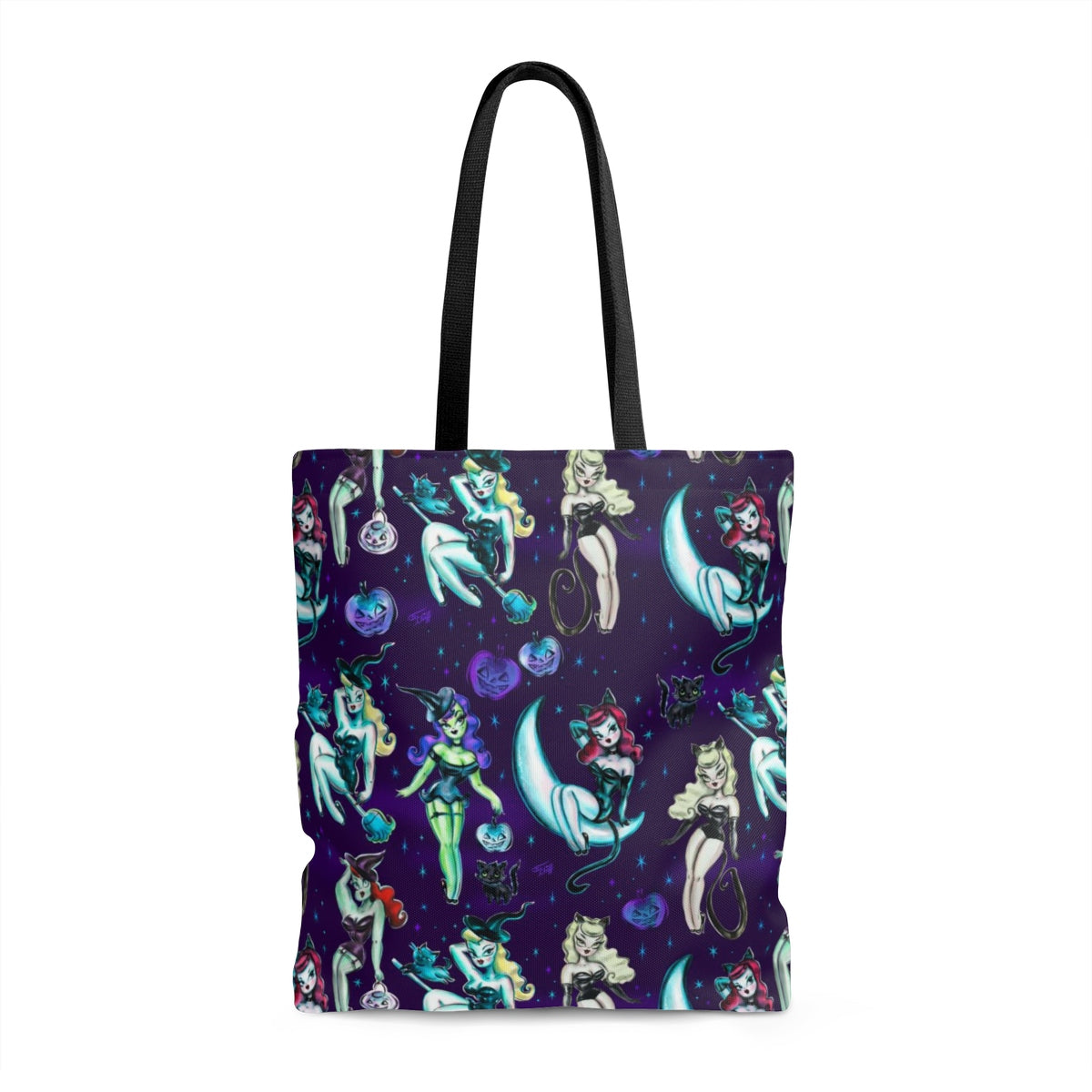 Witches and Black Cats • Tote Bag