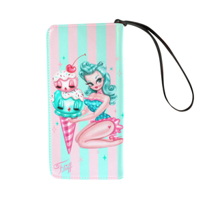 Ice Cream Doll • Clutch Wallet