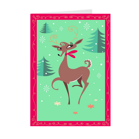 Reindeer • Cards Set of 10